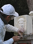 Faragó János kőfaragó-restaurátor