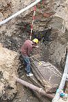 Fő téri ásatás -2010