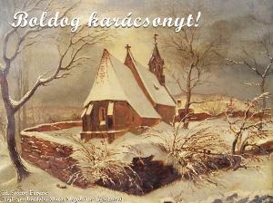 Boldog karácsonyt és boldog új évet!
