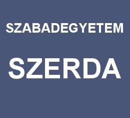 Szerdai Szabadegyetem – 2013. tavasz