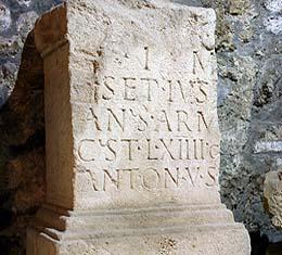 Közlemény: a Római kori kőtár átmenetileg zárva!