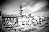 Diebold Károly: Romok, 1945 - Soproni Múzeum