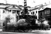 Bünker János Rajnárd: A Fő tér 1900 körül - Soproni Múzeum