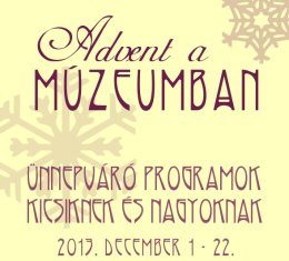 Békebeli karácsony a múzeumban