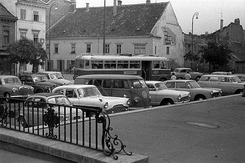 Soproni Ünnepi Hetek idején - Fotó: Adorján Attila, 1963