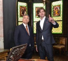 A Storno-ház vendége volt Orbán Viktor miniszterelnök