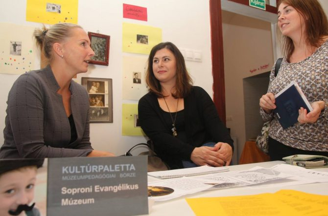 Kultúrpaletta múzeumpedagógiai börze Sopronban