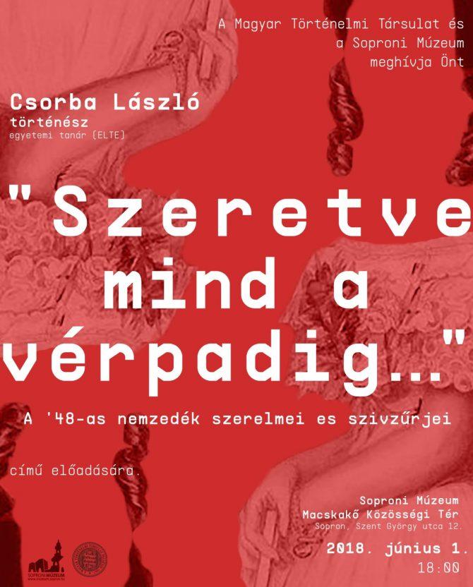 Csorba László történelmi előadása
