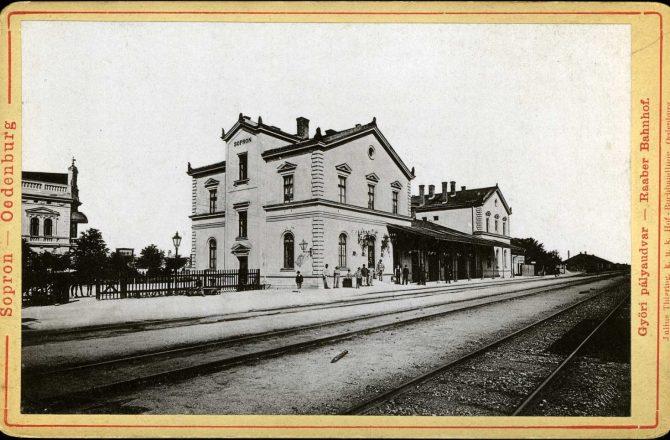Vasúttörténelem Sopronban
