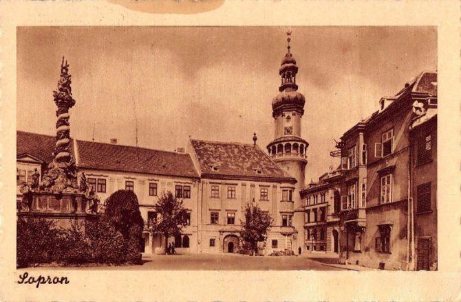 Elmúlt idők- Sopron régi fotókon