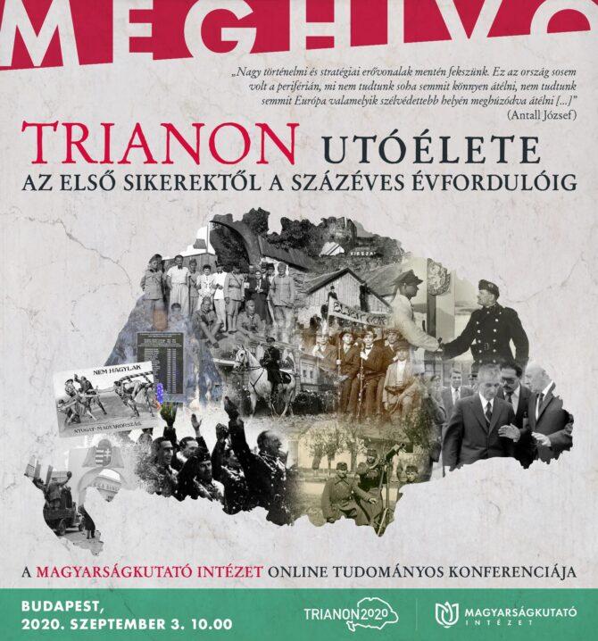 Konferencia Trianon utóéletéről