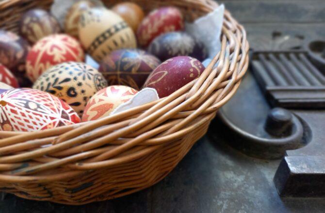 A múzeum hímes tojásai