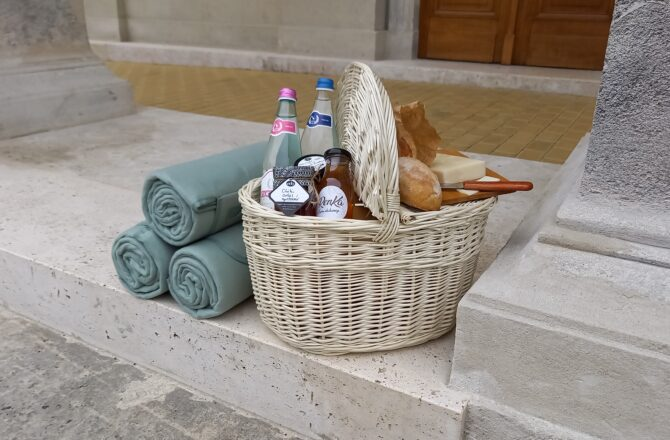Piknik a kertben